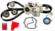 Engine Timing Belt Kit With Water Pump Gates Fits 08-13 Subaru Forester 2.5l-h4