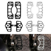 Cnc Foot Pegs Floorboards Mx Style Pedals Fit For Harley Touring Softail Fatboy