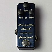 Secondhand One Control Effector Reverb Prussian Blue