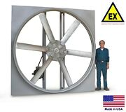 Panel Axial Exhaust Fan - Explosion Proof - 24 - 230/460v - 1 Hp - 7607 Cfm