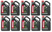 Motul 104083 5100 4t 15w50 Synthetic Blend Motorcycle Oil - 4-liters Pack Of 10