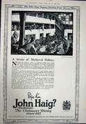 Antique Print Ref.926 1923 Advertisement John Haig Clubmanand039s Scotch Whisky