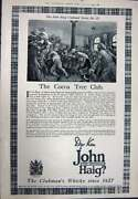 Antique Print Ref.922 1923 Advertisement John Haig Clubmanand039s Scotch Whisky