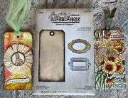 Tim Holtz Alterations Tag And Bookplates Bigz Die Movers And Shapers 656938 New