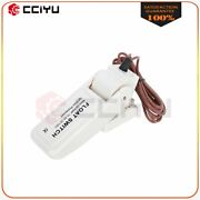 White Automatic Boat Bilge Pump Float Switch 28 Wire Cable High Quality