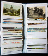 World Old Time Postcard Collection In Nice Phot Album