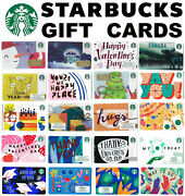 Gift Cards Starbucks ☕🍵🍰 Collectible Cafe Restaurant Canada Usa Coffee Cake