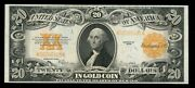 Fr1187 20 1922 Series Gold Note Choice Unc Wl33