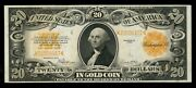 Fr1187 20 1922 Gold Note -- Choice Unc -- Wl3167