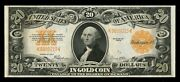 Fr1187 20 1922 Gold Note -- Very Choice Unc -- Wl3166