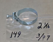 197 Wittek 2 1/16 Tower Hose Clamps 1 Dated 3/7 Corvette Camaro Ford Mustang