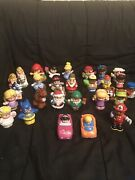 Lot Of 28 Fisher Price Little People Toys Princess Santa And More