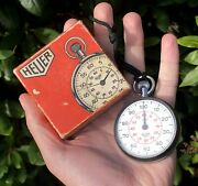 Tag Heuer Vintage Boxed Swiss Stop Watch Stopwatch