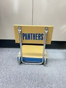 Eary Vintage Pittsburgh Pitt Panthers Stadium Chair Seat Rare