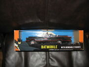 Nj Croce Dc3930 1/24 Batmobile With Bendable Figures Free Shipping