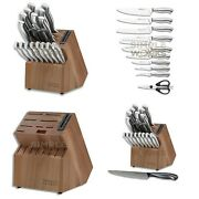 Chicago Cutlery Insignia Guided Grip 18-piece Knife Set Stainless With Block