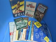 Bsa 1960's Vintage Lot 21 Boy Scout Booklets Books Camping Den Mother Song Book