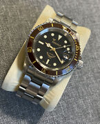 Squale Diverand039s Watch Beams Swiss Eta 2824-2 Automatic Self-winding Stainless
