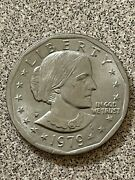 Rare 1979 Silver Dollar Susan B Anthony Great Condition P