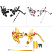 Rearset Footpegs Footrest Rear Set Foot Pegs Fit Yamaha Mt-09 And Fz-09 2014-2017
