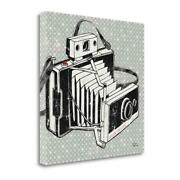 24 X 24 Vintage Analog Camera Giclee Print On Gallery Wrap Canvas
