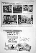 Old 1922 Maurice Moscovitch Theatre Banks Maison Lyons John Haig Scot 20th