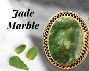 Vintage And Antique Jewelry Signed Burt Cassell 14kt Gf Pin