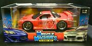 Muscle Machines Red 2003 Acura Nsx Muscle Tuner 118 Scale Diecast 71169 Nib