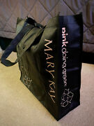 Mary Kay Non-woven Recyclable Black Bag Reusable Folding Tote--new In Package