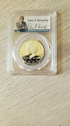 2000-s Kennedy Silver Half Dollar Proof Pcgs Pr70 Dcam With Presidents Signature