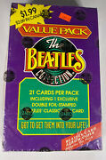 Value Pack The Beatles Collection Factory Sealed 21 Per Pack Full Box Rare Box