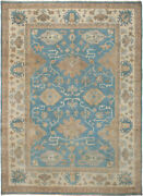 Vintage Hand-knotted Carpet 9and0390 X 12and0393 Traditional Oriental Wool Area Rug