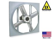 Panel Axial Exhaust Fan - Explosion Proof - 20 - 230/460v - 1/2 Hp - 4570 Cfm
