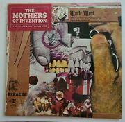 The Mothers And039uncle Meatand039 1969 M- Unplayed Vinyl Nm Jkt W/booklet Rare Zappa 2 Lp