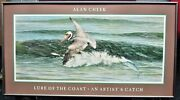 Lure Of The Coast - An Artist's Catch Print - Alan Cheek - Signed Outer Banks Nc