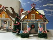 Dept 56 Snow Village The Patriot House Hard To Find 4th Of July Fourth
