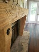 Hand Made Fire Place Surround,fireplace Mantel, Hand Hewned With An Ax.