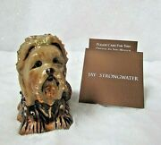 Jay Strongwater Yorkie Yorkshire Terrier Dog Ornament Hand Signed And Dated 2006