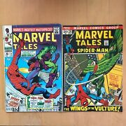Bronze Age Spider-man Lot Marvel Tales 12 34, Team-up 38 39 A1,two-in-one 32 A2