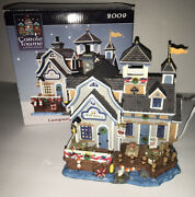 2009 Lemax Carole Towne Collection Lampreyand039s Crab Shack 95901 Christmas