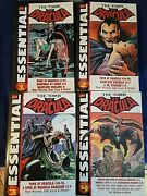 Tomb Of Dracula Essentials- Graphic Novels 1-4, Oop Marvel Free Shipping