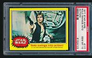 1977 Star Wars And039solo Swings Into Actionand039 177 Psa 10 - Tough Low Pop 1/9