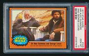 1977 Star Wars And039sir Alec Guinness And George Lucasand039 329 Psa 10 - Low Pop 1/8