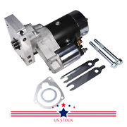 Black High Torque Mini Starter Small And Big Block W/shims For Chevy 153 168 Tooth