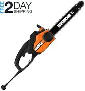 Worx 16-inch 14.5 Amp Electric Chainsaw With Auto-tension Chain Brake And Andndash