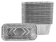 Grill Drip Pans, Aluminum Foil Drip Pan Liners, Grill Grease Trays Compatible