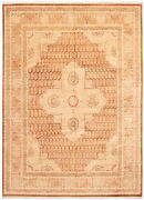 Vintage Hand-knotted Carpet 9and0391 X 12and0393 Traditional Oriental Wool Area Rug