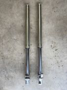 02-20 Suzuki Rm85 Rm80 Rm 85l 85 Front Forks New Oil And Dust Seals And Oil