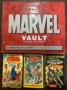 The Marvel Vault A Museum-in-a-book With Rare Collectibles   Sealed New