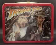Indiana Jones And The Temple Of Doom Metal Lunch Box 1984 King-seeley
